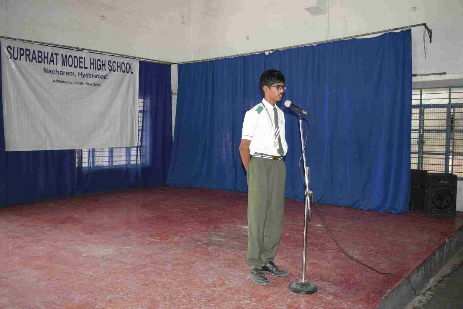 Speech Competition About