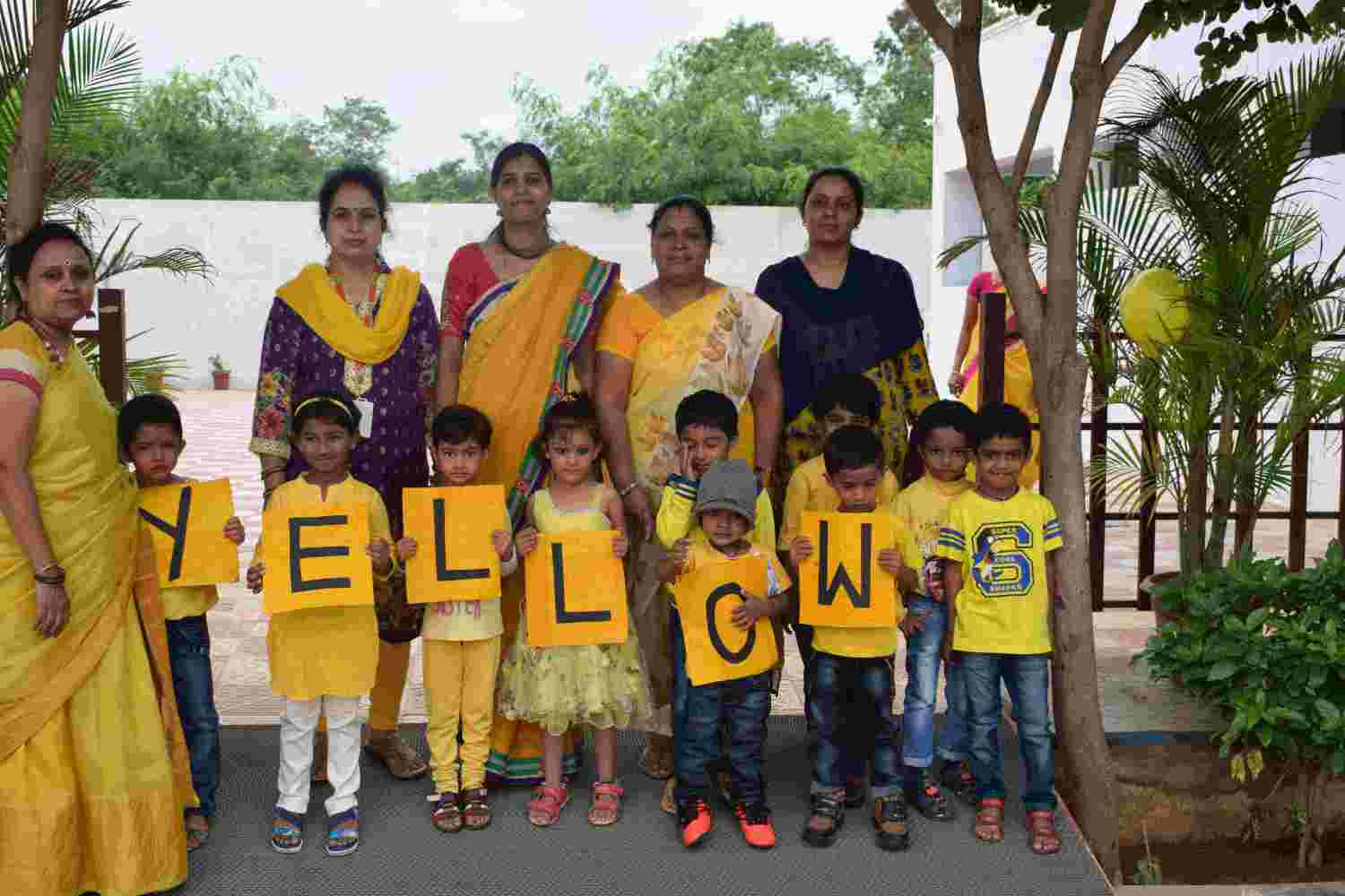 Yellow Color Day