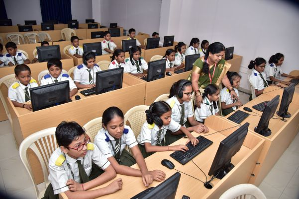 Suprabhat Model High School(SMHS) computer Lab facility