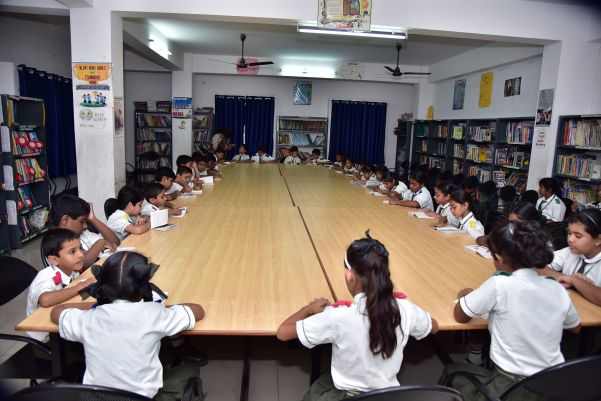 Suprabhat Model High School(SMHS) Library facility